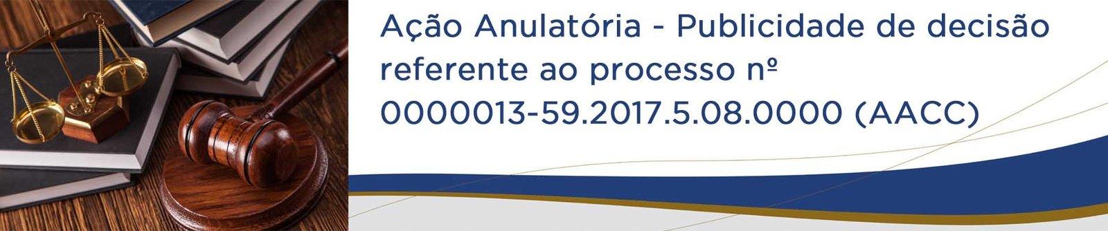 Ação Anulatória de Cláusulas Convencionais