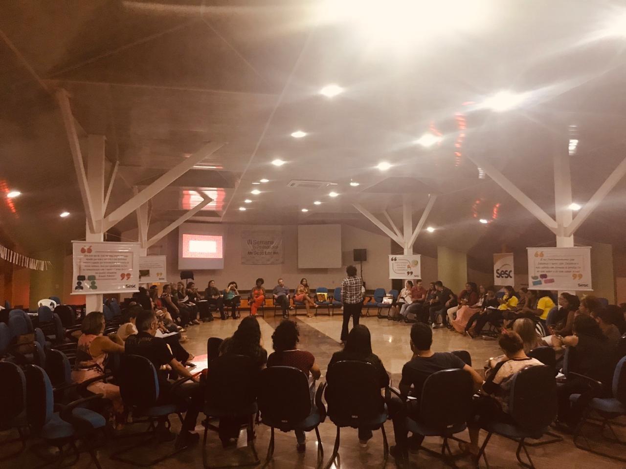 Sesc no Pará promove III Semana Pedagógica em Salinópolis