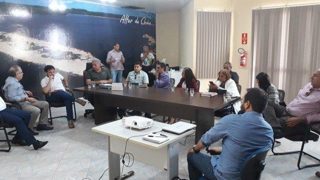 Setor produtivo participa de reunião para revitalização do centro comercial de Santarém
