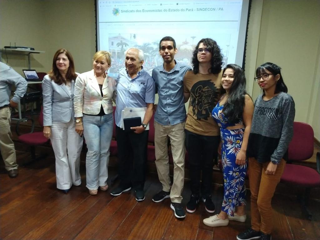 Fecomércio PA participa de homenagem ao Economista do Ano 2018