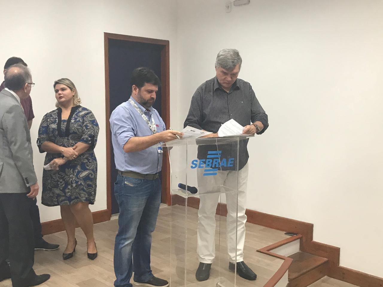 Sesc Pará firma convênio com Sebrae Pará