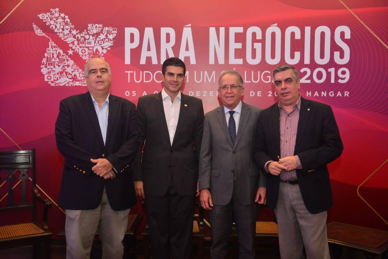 Fecomércio prestigia lançamento da 8ª Feira Pará Negócios