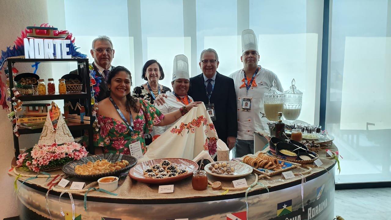 Senac Pará apresenta gastronomia paraense durante 2ª Conferência de Comércio Internacional e Serviço