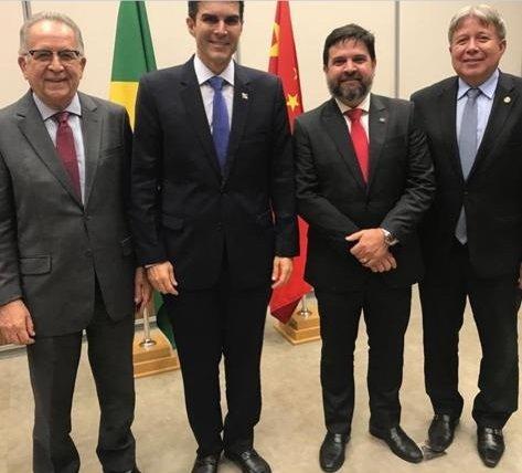 Fecomércio PA participa da assinatura de protocolo de intenções para construção da Ferrovia Pará