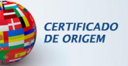CERTIFICADO DE ORIGEM